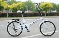 Wholesale 20 quot carbon steel Folding bicycle Portable Bikes for Children and women