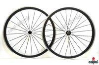 al wheels - Al Braking Surface Road Carbon Wheels Clincher Bicycle Wheels Depth mm U shape wheelset Width mm