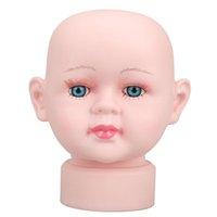 Wholesale Lovely Girl Manikin Head Hats Wig Mould Show Stand Model Mannequins hv3n