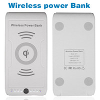 blackberry 9000 - for Iphone for Samsung S6 mAh Wireless Power Bank Qi Wireless Charger Power Bank A Wireless Output Charging Transmitter Pad