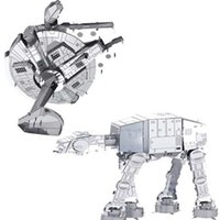 Wholesale 2pcs Star Wars Miodel Building Kit Imperial walker TIE fighter metal kids toy juguetes brinquedos para as crian
