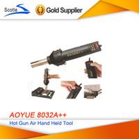 Cheap New 110V Desoldering Station AoYue 8032A++ Digital Display Station Hot Gun Air Soldering Station 550W