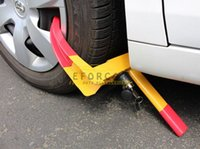 Wholesale Car Wheel Tire Copper Lock Clamp Parking Illegal Towing Auto Boat Trailer Anti Theft