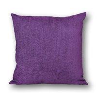 Wholesale PKAF004 Plain Pillow Cover Decorative Pillow Cover Cotton Cushion Cover Car Pillowcase Bedding Cover Set