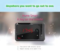 8G   HD 1080 * 720 p HD night-vision remote camera hidden spy camera P2P mini DV computer remote viewing mobile alarm clock