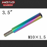 Wholesale Racing JDM Neo Chrome M10X1 Shifter Shift Knob Extension