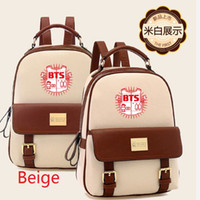 bags surroundings - BTS Bangtan Boys leather bag shoulder bag casual bag Korean students surrounding star