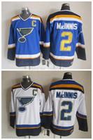 al sales - Good Quality Hot Sale Men s St Louis Blues Hockey Jerseys Al Macinnis Jersey CCM Blue White Throwback Vintage Cheap Stitched