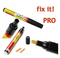 Wholesale AX Permanent Water Resistant Works on all colors Fix It Pro Clear Car Coat Scratch Cover Remove Repair Painting Pen