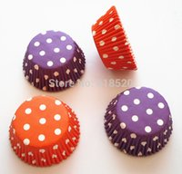 bake sale bakery - Hot Sale Polka Dot Standard Size Paper Baking Cups Cupcake Liners Cakes Tools Bakery Decoations
