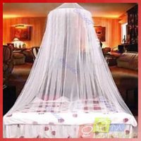 Wholesale B39Dome Elegent Lace Bed Netting Canopy Mosquito Net retail