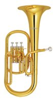 alto horn mouthpiece - Brass Alto Horn in Eb Pitch with ABS case and mouthpiece Wind Musical instrument for Sale Factory Supply