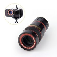 video zoom microscope - New Optical Lens X Zoom Telescope For Camera Mobile Phone s camera zoom