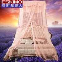 Wholesale ESKIMO Mosquito Net for double bed Girls Princess Bed Net Single Bed Hammock Mosquito Net Gifts