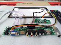 Wholesale B101UAN02 driver board Controller Board DIY set TV AV VGA HDMI USB keypad remote control auto open defined logo