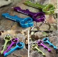 Wholesale Personalized Keychain Design Ought Key Pendant Aluminum Beer Bottle Opener For Funny Kitchen Supplies Bar Tools Wedding Favor