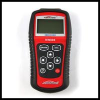 Wholesale Hot Sale Diagnostic Tool KONNWEI KW808 OBD2 Scanner EOBD Auto Code Reader work for US Asian European cars kw808 scanner Automotive PC