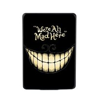 Wholesale Kindle Case Elonbo We re All Mad Here quot Protective Plastic Back Case Cover for Amazon Kindle Paperwhite Kindle Paperwhite