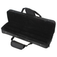 Wholesale New profesional portable flute bag waterproof case black cover light weight box good quality package with shoulder straps padded