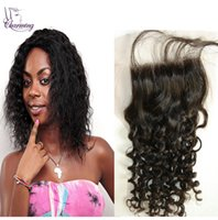 baby curl hair products - Cheapest Product Indian Virgin Human Hair Jerry Curl Full Lace x4 Closure Piece With Baby Hair Natural Color Top Lace Hair Closure