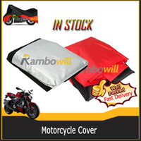 Wholesale New Outdoor Weatherproof L Breathable Touring Dust Rain Scooter180T Large UV Motorbike Motorcycle Cover