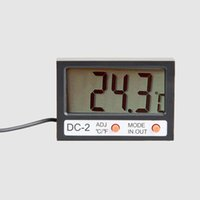 best indoor thermometer - Mini inch LCD Digital Thermometer for Indoor Outdoor Use Black High Quality with Best Price
