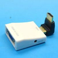 hdtv converter box - 4pcs P HDMI to VGA Audio HD HDTV Video Converter Box Adapter for PC Laptop DVD