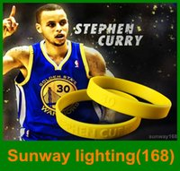 Wholesale 2016 New Stephen curry four color silicone bracelet wristband curry signature cherished sports bracelet loyal fans need