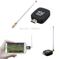 Wholesale Mini Micro USB DVB T Digital Mobile TV Tuner Receiver For Android Phone Tablet PC