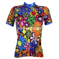 bike shop - Paladin Colored flower cycling jersey woman cycling clothes china cycling clothing road bike jersey Free Shopping