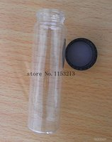 Wholesale 1 ml small opering screw thread vial Ex stock HPLC vials Clear Glass Essential Oils Bottle USP expansion33 pack