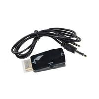 HDMI Cable adapter headband - HDMI TO VGA adapter headband Audio HDMI TO VGA Audio Adapter