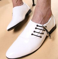 Wholesale 2016 New arrival men Wedding shoes pointed patent leather shoes Business leather shoes ENPX114