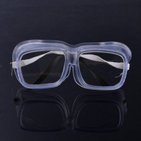 Wholesale Splash Proof Glasses Shock Safety Goggles Preventing Dust and Sand PVC Labor Glasses Pieces also for Lab Supplies