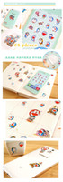 Wholesale Daisyland Paper Suitcase Stickers Modeling Package Decoration Stickers Seal Sticker