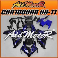 aftermarket fairing kit - Addmotor Injection Mold Aftermarket Fairings Fit Honda CBR1000RR CBR RR Body Kit Blue Flames H1803 Five Free Gifts