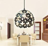 aldo fashion - Aldo single head Iron Chandelier Lamp modern minimalist fashion crystal chandelier bar creative personality spherical Restaurant