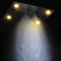 Wholesale Amazing design function Large Ceiling Light mm Colorful LED Shower Head remote control color change