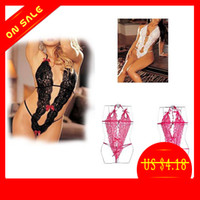 Cheap New Sexy Lace Lingerie Dress One Piece Sleepwear,Underwear ,Uniform ,Kimono Costume 73328-73331