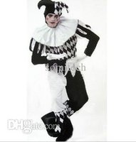 adult fun onesies - carnival costumes cosplay clown costume with hat onesies for adults man Funny fun innovative items hot sell