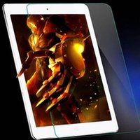 Wholesale For iPad5 air Air2 IPAD Mini3 Premium Tempered Glass Film membrane Tablet PC Screen Protector H High quality Explosion proof Ipad new