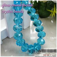 Wholesale 2015 new fashion created colorful crystal loose faceted Beads mm glass crystal rondelle bead