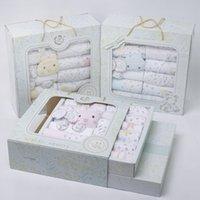 baby boys - New spring autumn babies pieces sets Gift Box pure cotton newborn Baby Months Boy Girl Clothes Newborn Baby Clothing Baby sets