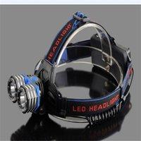 aa led lantern - 5000 Lumen x XM L XML T6 LED Head Flashlight AAA AA Headlamp Lantern Head Lamp Flash Light Charger Usb Cable For Camping