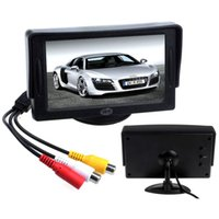 Wholesale 2015 New Arrival Classic style quot TFT LCD monitor Car DVD GPS rearview reverse backup camera vehicle accessories