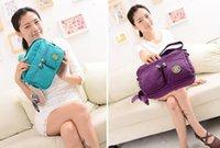 Wholesale color brand Canvas diagonal package kip shoulder bags tarps package cm