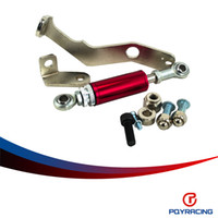 Wholesale PQY RACING Engine Damper For Civic EG EK D15A2 D16A Purple Engine Torque Damper Brace Kit Del Sol SI PQY2101