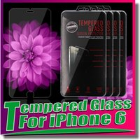 For Apple iPhone arc packaging - For Note Tempered Glass Screen Protector Film Premium mm Ultra Thin Arc edge For iPhone Samsung galaxy S5 S4 note Retail Package