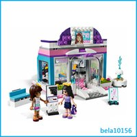 beauty shop toys - Bela Friends Seris Butterfly Beauty Shop Building Block Sets DIY educational toys for