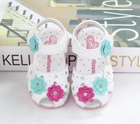baby girl shoes - 2015NEW Toddler shoes China Brand Baby Prewalker shoes girls princess shoes Baby soft sole flowre shoes Infant shoes summer shoes